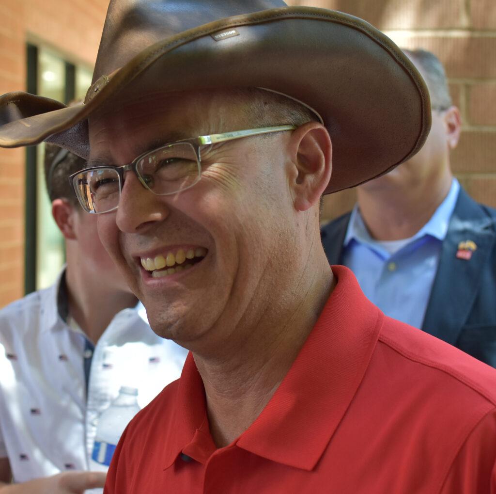 Eddie Cook, Gilbert Town Councilman, 2018