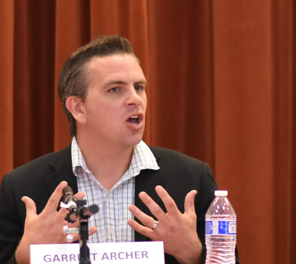 Garrett Archer, Election Integrity Panel 2019