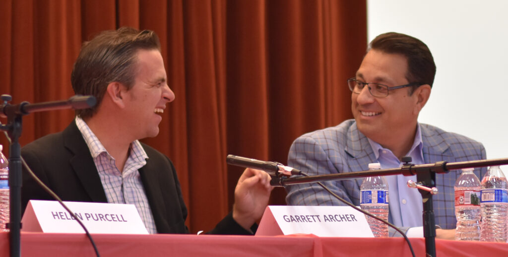 Garrett Archer and Steve Chucri, Election Integrity Panel 2019