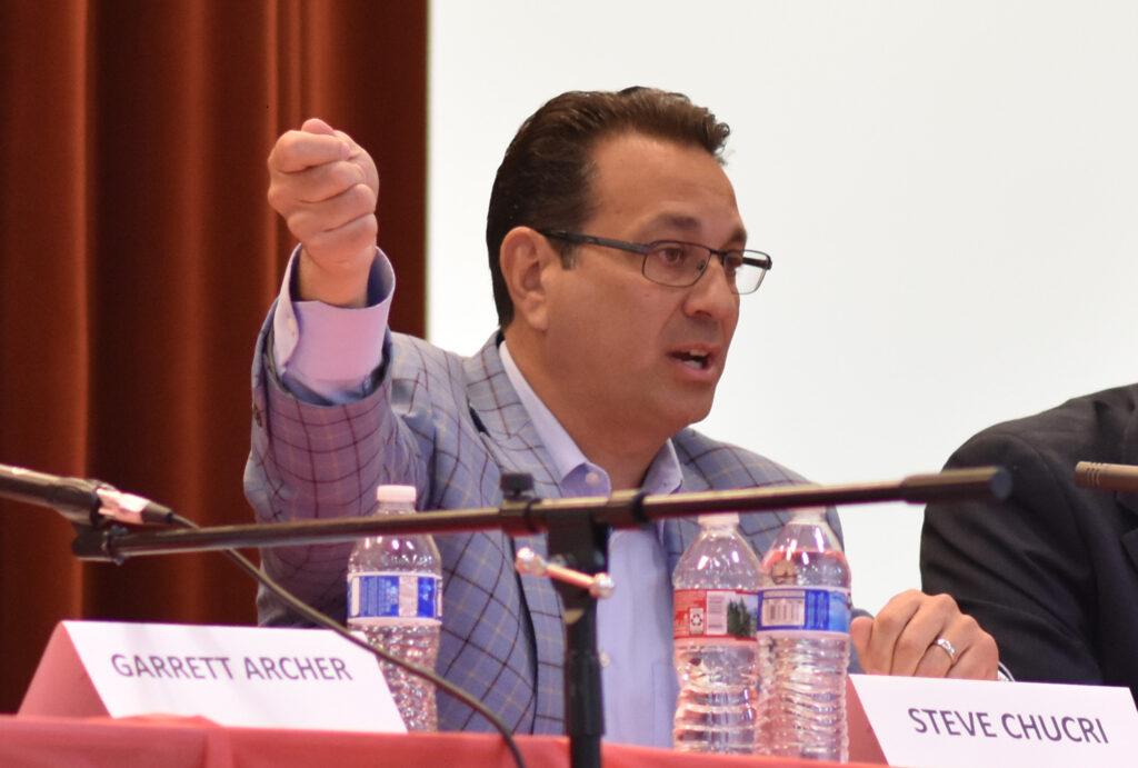 Steve Chucri, Election Integrity Panel 2019